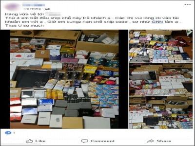 Hàng loạt shop online điêu đứng vì tiền mất, hàng bị niêm phong khi công ty chuyển phát GNN tuyên bố phá sản